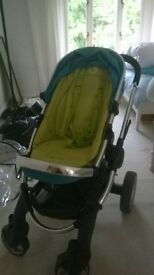 i candy Peach push chair, carry cot and accessories. spare / repair
