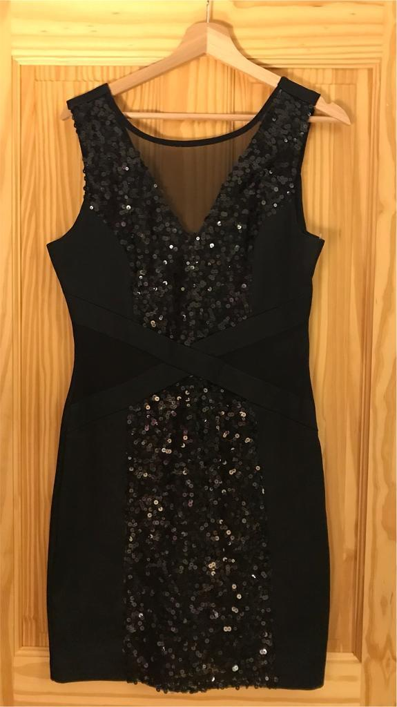 Black Sequin Forever 21 Bodycon Dress L In Southampton