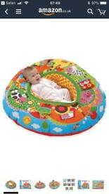 Play nest and tummy time active toy