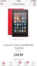 Amazon fire tabs