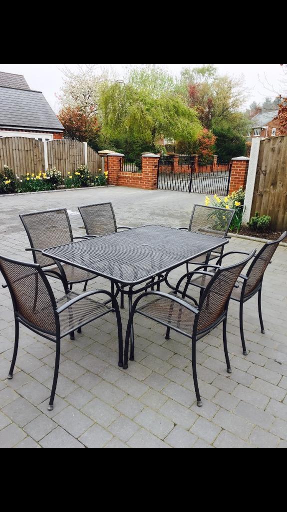 Kettler Metal Mesh Garden Furniture - Garden Designs