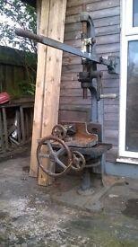 Vintage Crescent Mortise Machine