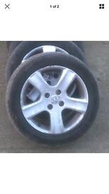 Peugeout 307 alloys 16 inch