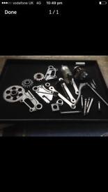 Kawasaki zx6r parts g and j series