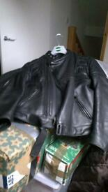 ladies Wolf motorcycle jacket