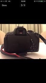 Canon Eos 650d/ rebel t4i 180 mb Digital SLR Camera Black ( body only boxed )