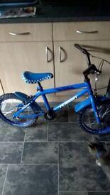 "boys bike 16"" wheel ( age 3-5 years )"