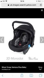 Mono dot silvercross 3D car seat