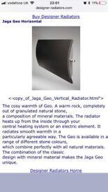 Ceramic radiator