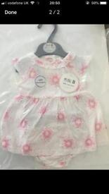Baby Girls Dress with Knickers