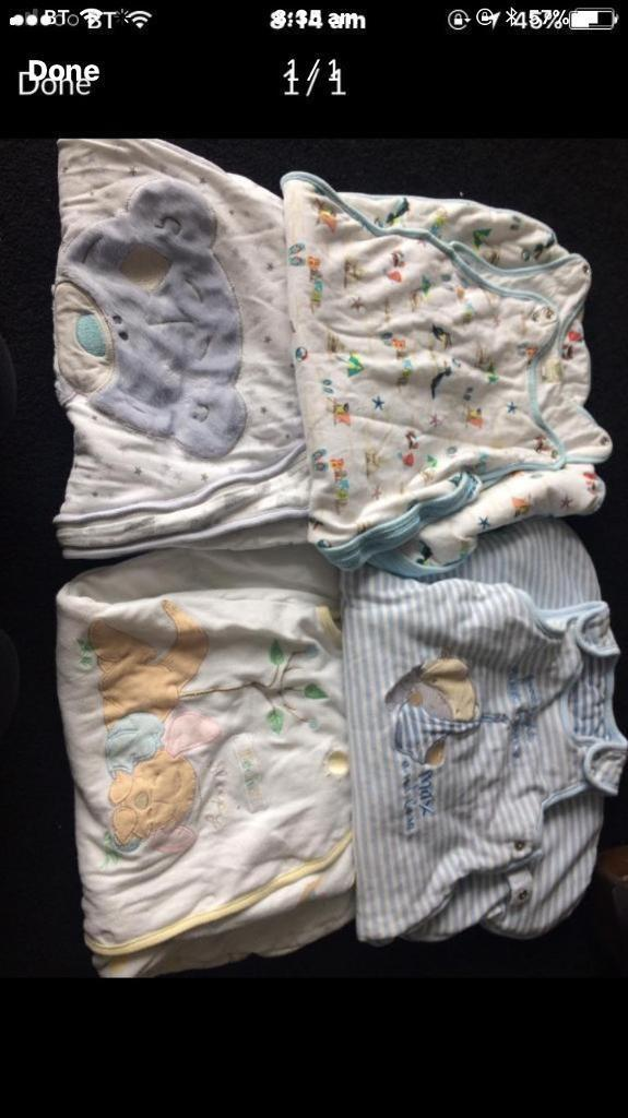 Baby boy sleeping bags 0-6 months