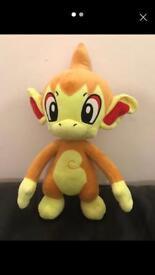 Chimchar Pokemon plush