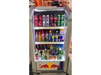 Display drink fridge