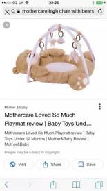 Teddy bear mat