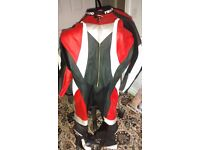 """Teknic 48"""" full leather motor cycle suite"""