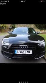 Audi A5 black edition very low mile age!!!!