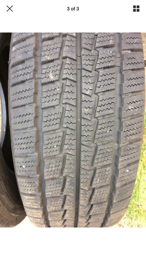 235-65-16 Hankook Winter Tires x2