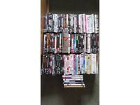 110 DVD's Action, Scifi, Horror, Comedy