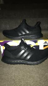 3.0 triple black ultra boost size 9UK
