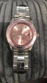 Rolex wristwatch watch men's women's pink rose gold bargain free loc del designer eid gift birthday