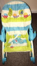 Baby rocker feeding chair REDUCED NOW