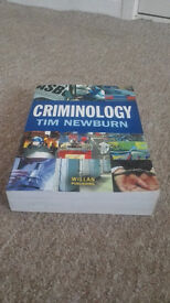 Used book - Criminology 1st Edition