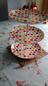 Three Tier Cake Stand (Reduced)