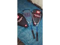 2 Squash Racquets
