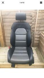 Audi A4 B6-B7 two tone Electric two tone leather seats and electric Lumbar support