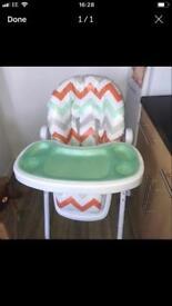 My babiie highchair