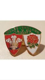 Quality Enamel Rugby Pin Badges Available Wales, England, NZ, Australia 6 Nations Collectables