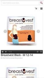 Breastvest - size M - black . new