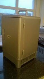 Silver worktop mini fridge AC/DC Hot or Cold