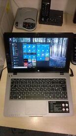 Advent Tacto Touchscreen Laptop, Windows 10, Dual Core, 500gb HD, Wifi, Kodi