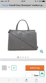 Fiorelli Grey Brompton medium grab bag