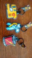 Sewing-Themed LED light key chains