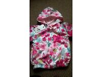 2 brand new toddler raincoats'