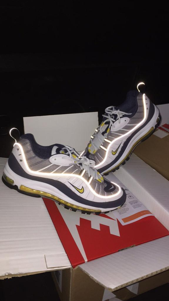bc1d01e184 Air Max 98 Fearless 90s Tour Yellow - Size 9 *exclusive* | in ...
