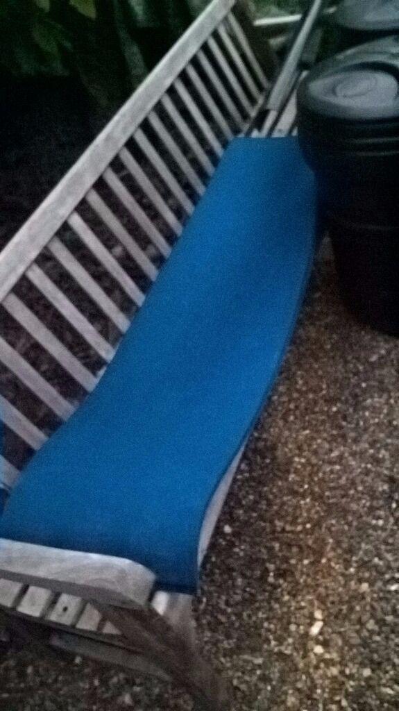 2x Sleeping mats, blue.