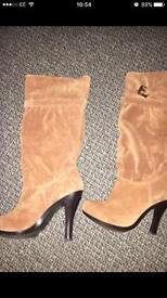 Brand new Michael kors suede boots sz5 uk