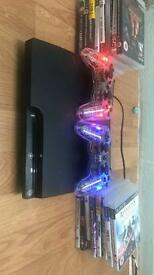 Ps3 slim 250gb with games