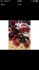 Quad skates size13-3 years old , good condition collect le3