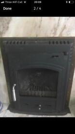 Westcott log burner stove inset standard 16inch opening
