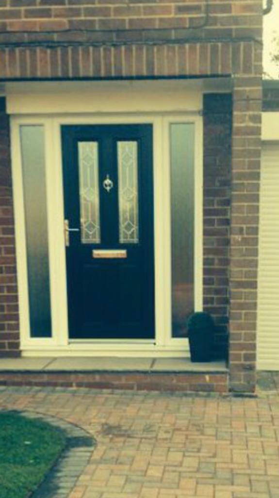 Composite front door black   in Durham, County Durham   Gumtree