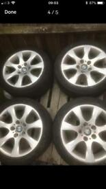 4 tyres and wheels for sale