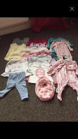 Small Baby girl bundle
