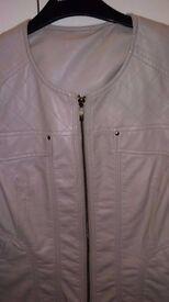 Real Leather Ladies Jacket.