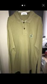 Stone island long sleeve polo