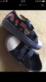 Girls size 12 light up shoes Debenhams
