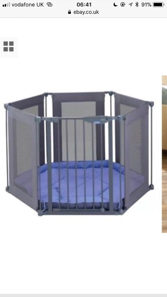 Lindam Safe Secure Fabric Playpenroom divider in County Antrim